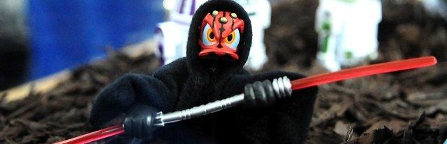 Star Wars Donald as Darth Maul
