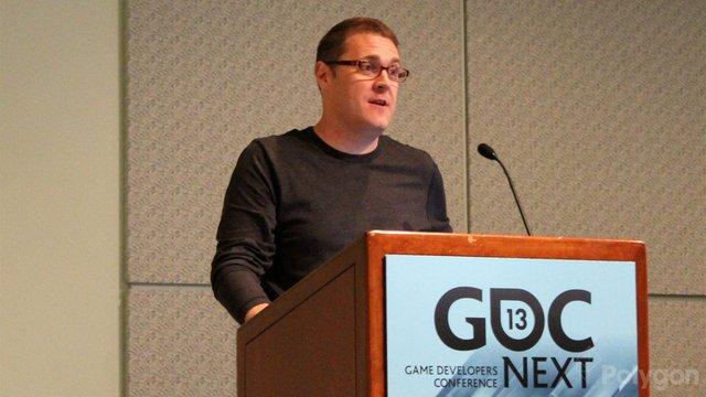 Адам Орт на GDC '13. Фото Polygon