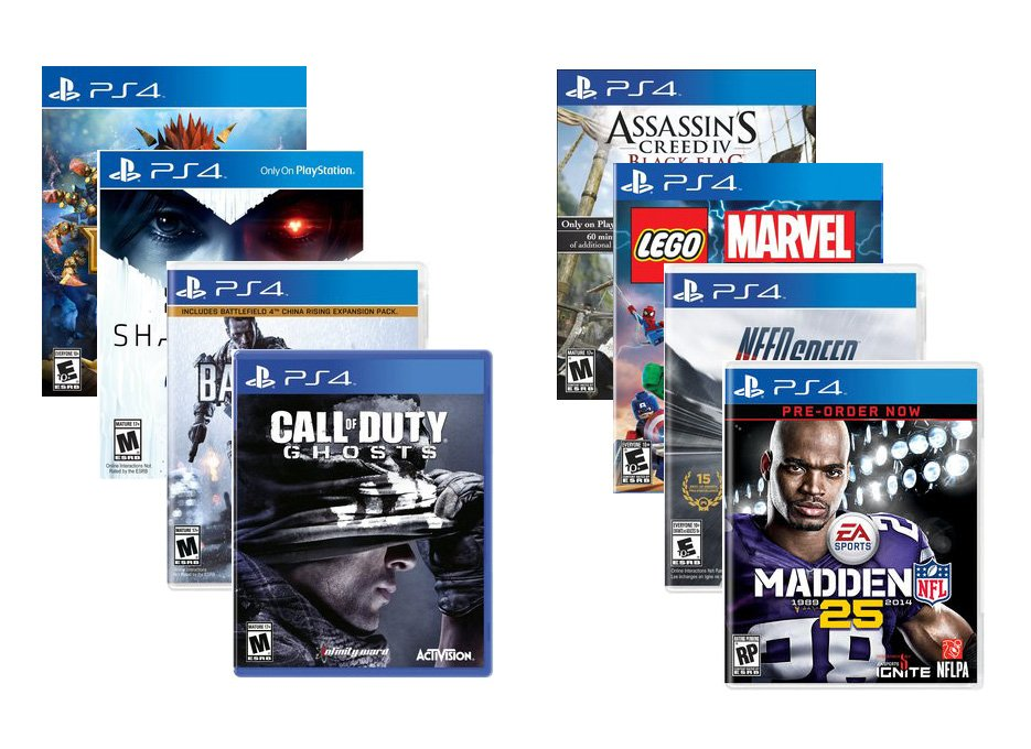 PS4-Launch-Titles