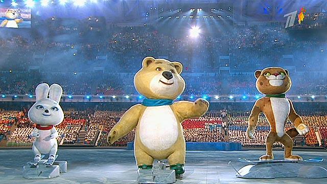 олимпийский мишка олимпиада в сочи 2014