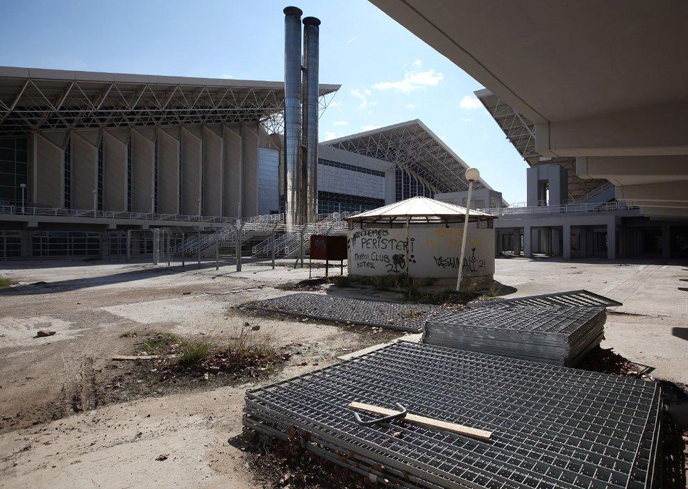 олимпиада 2014 года сочи брошенные олимпийские объекты
