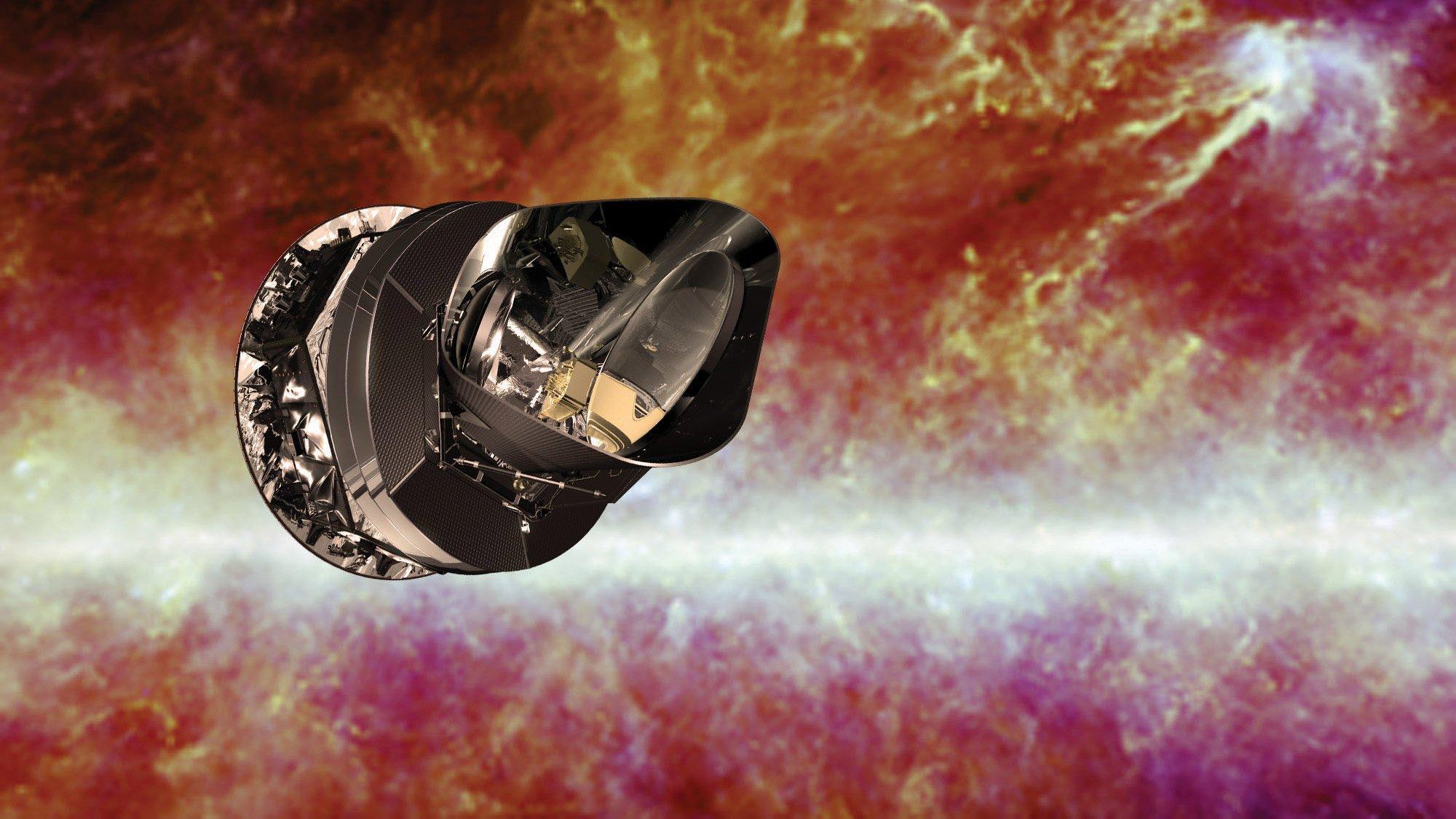 спутник планк обсерватория планк planck что такое тёмная материя, куда ведут черные дыры, и зачем нужна квантовая механика
