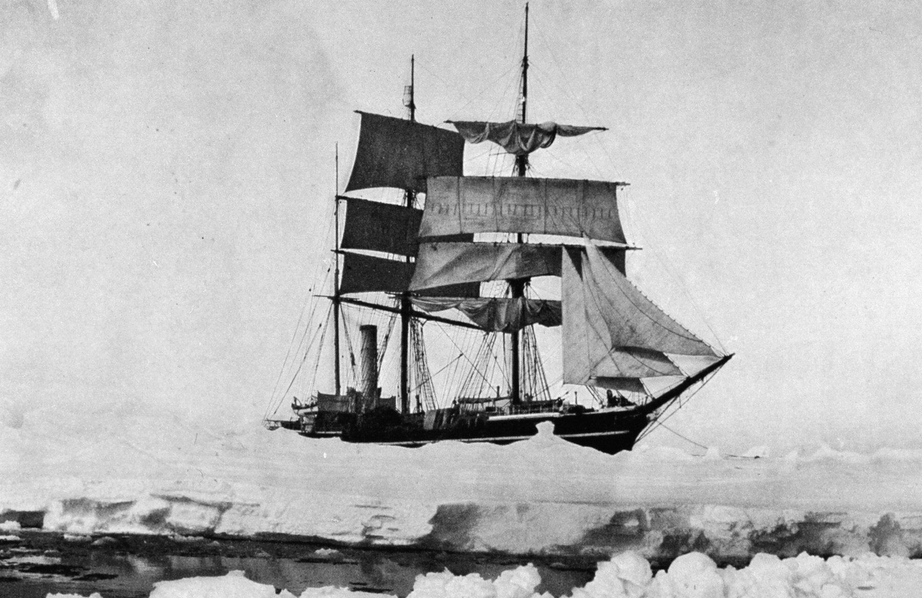 роберт скотт экспедиция терра нова корабль