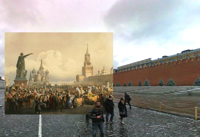 старая москва открытки москвы виды москвы василий федорович тимм