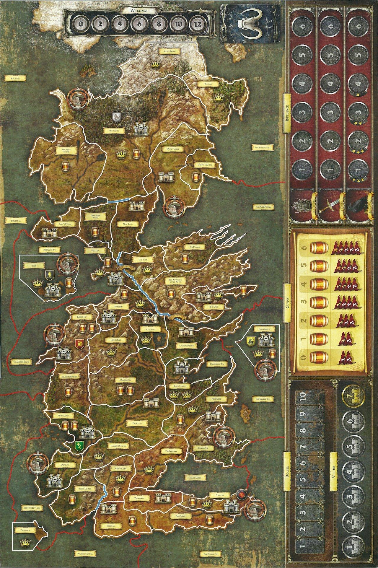 настольная игра престолов game of thrones baord game