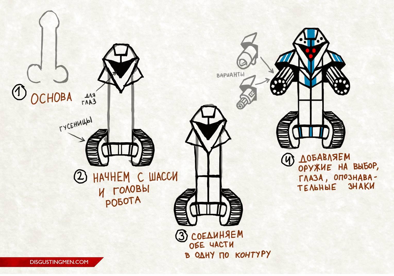 боевой робот из пениса