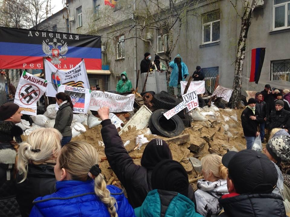 что происходит в славянске славянск беспорядки в славянске майдан евромайдан очевидец