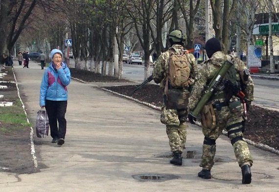 славянск что происходит в славянске беспорядки украина евромайдан очевидец ситуация в славянске
