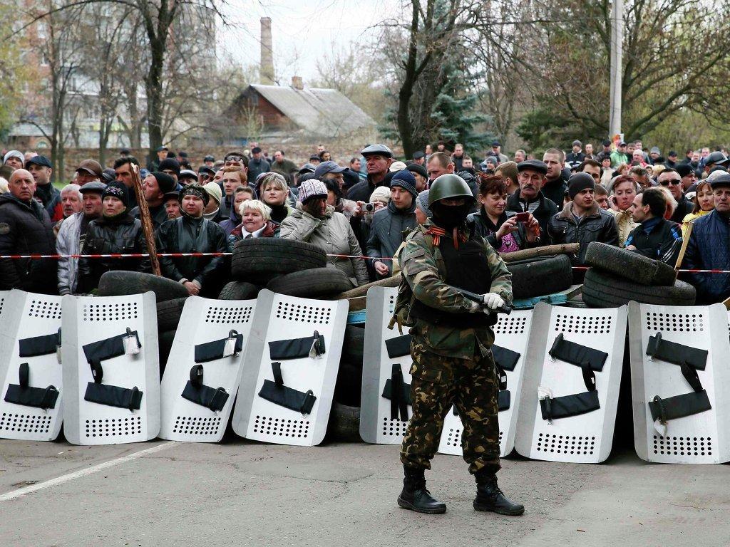 славянск что происходит в славянске беспорядки