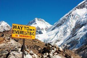 эверест первый подъем