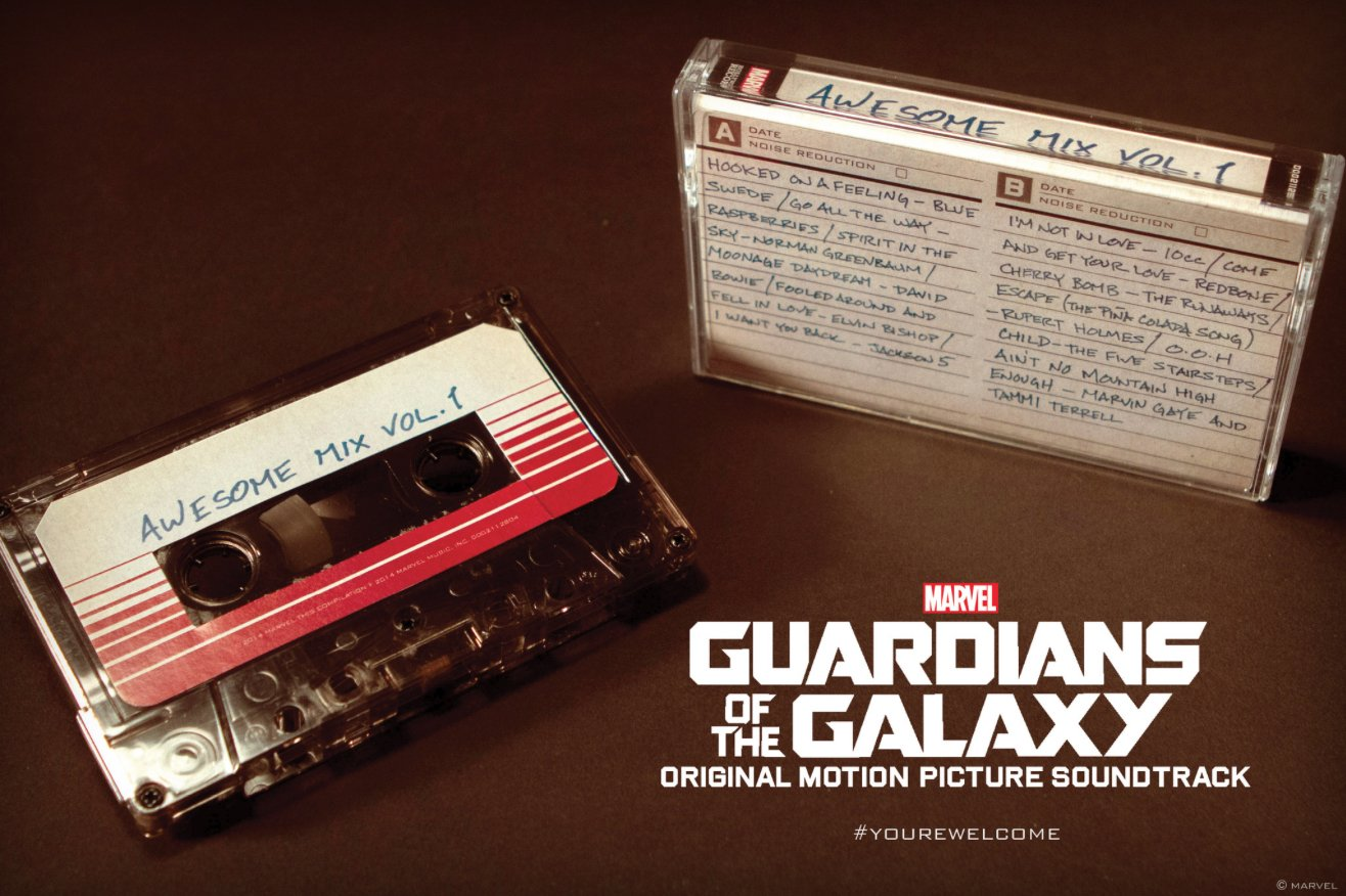 The awesome 'Guardians of the Galaxy' mixtape will be released on cassette  The Verge 2014-10-21 14-54-54