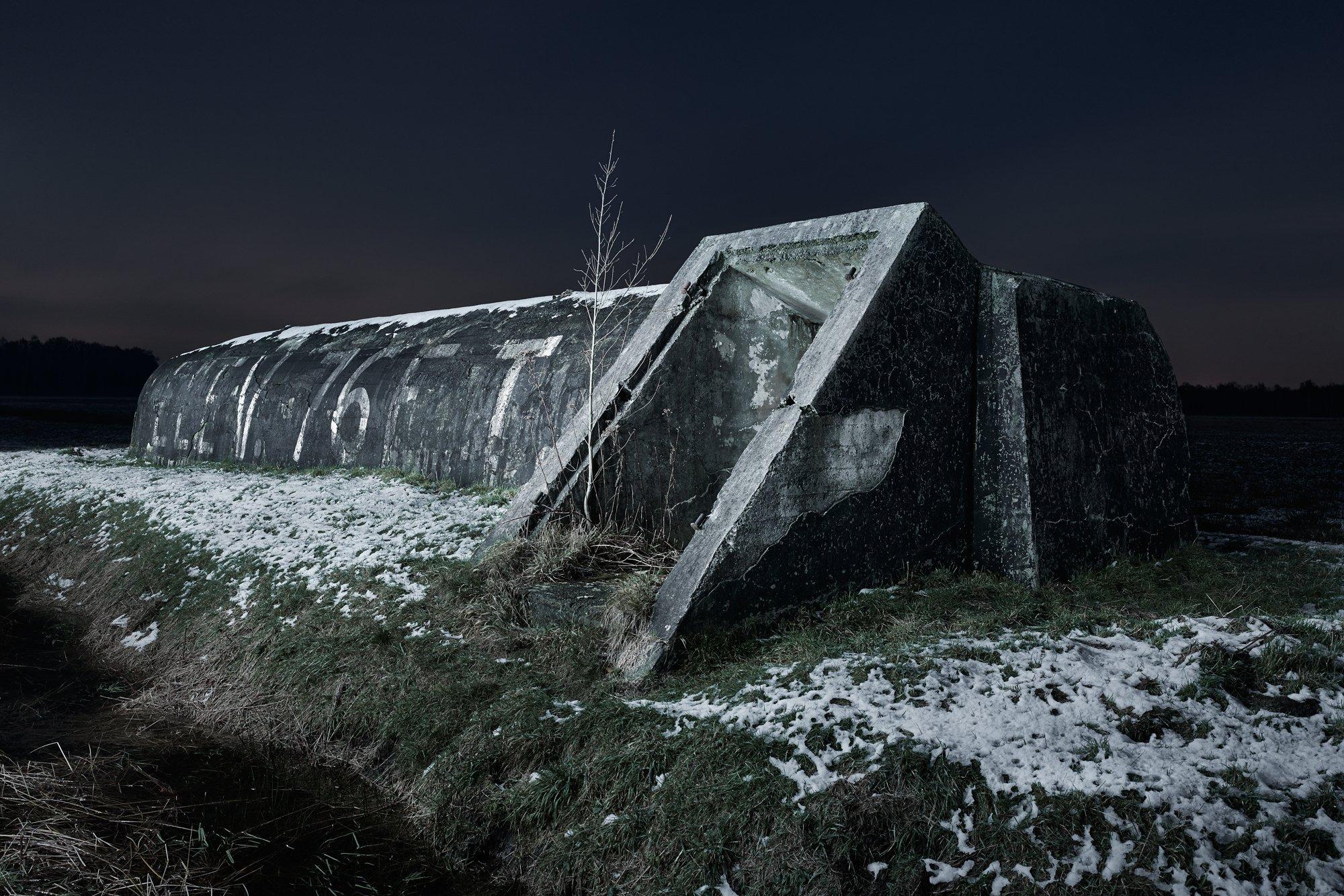 Brasschaat air raid shelter Belgium