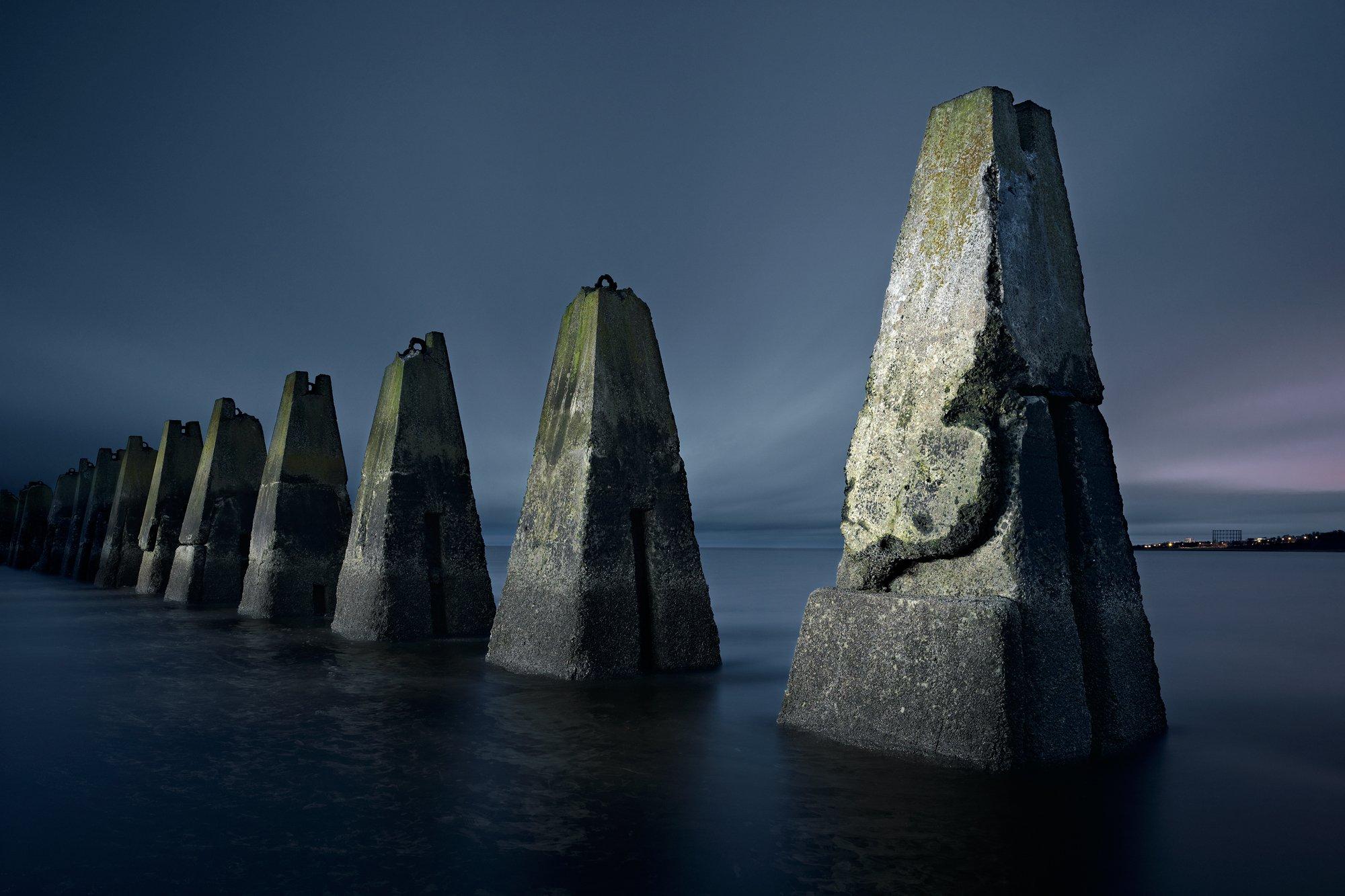 Cramond Island defense boom