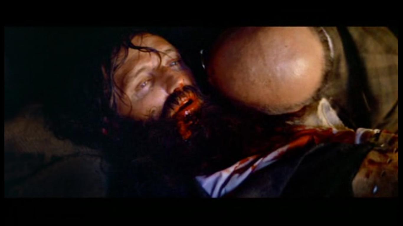 Сцена со смертью Безумного Пса, которая чуть не кончилась смертью по-настоящему