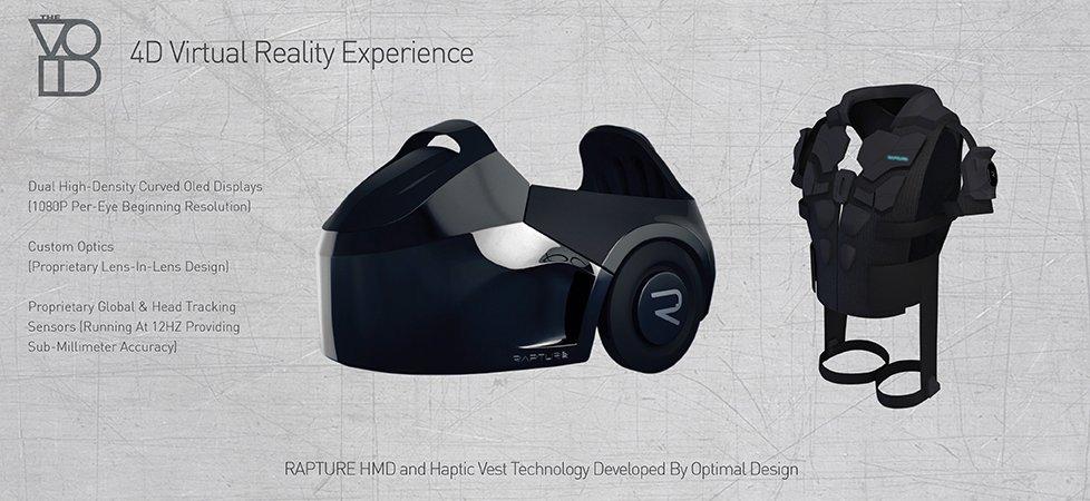 the void virtual reality виртуальная реальность парк развлечений