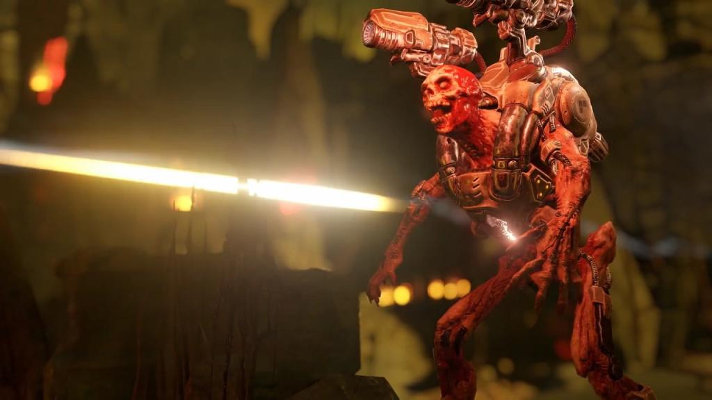 doom teaser дум 4 дум тизер трейлер геймплей игровой процесс дата выхода на чем выйдет doom
