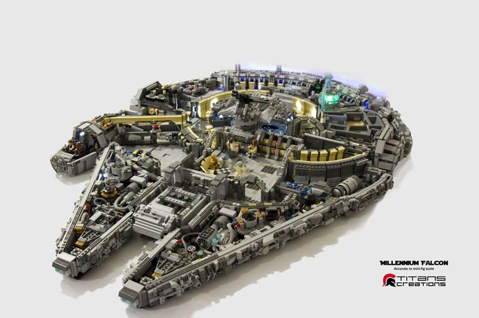 lego millenium falcon лего тысячелетний сокол