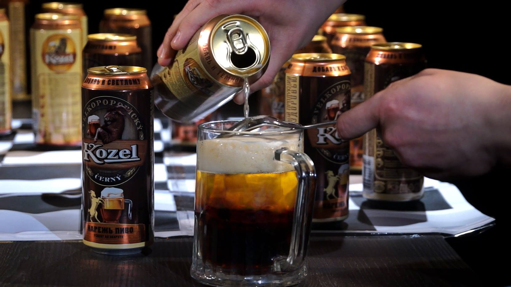 резаное пиво козел как сделать резаное пиво темное светлое резаное пиво видео отвратительные мужики блог подкаст