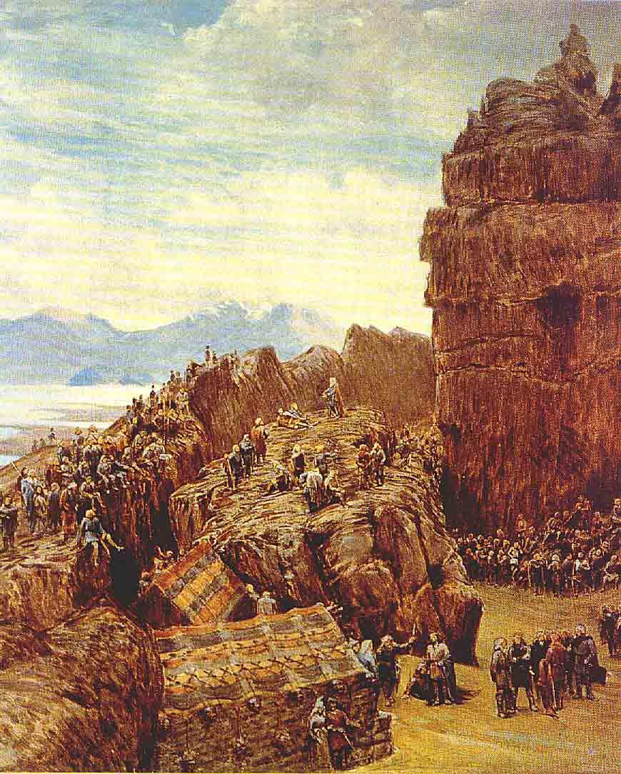 Так выглядел Альтинг, средневековый парламент