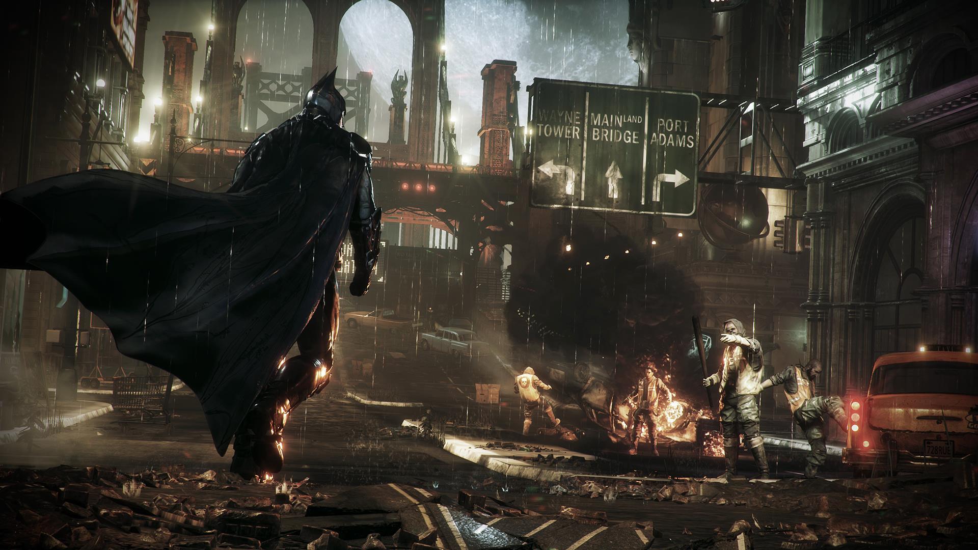 batman arkham knight бетмен игра новая дата выхода обзор