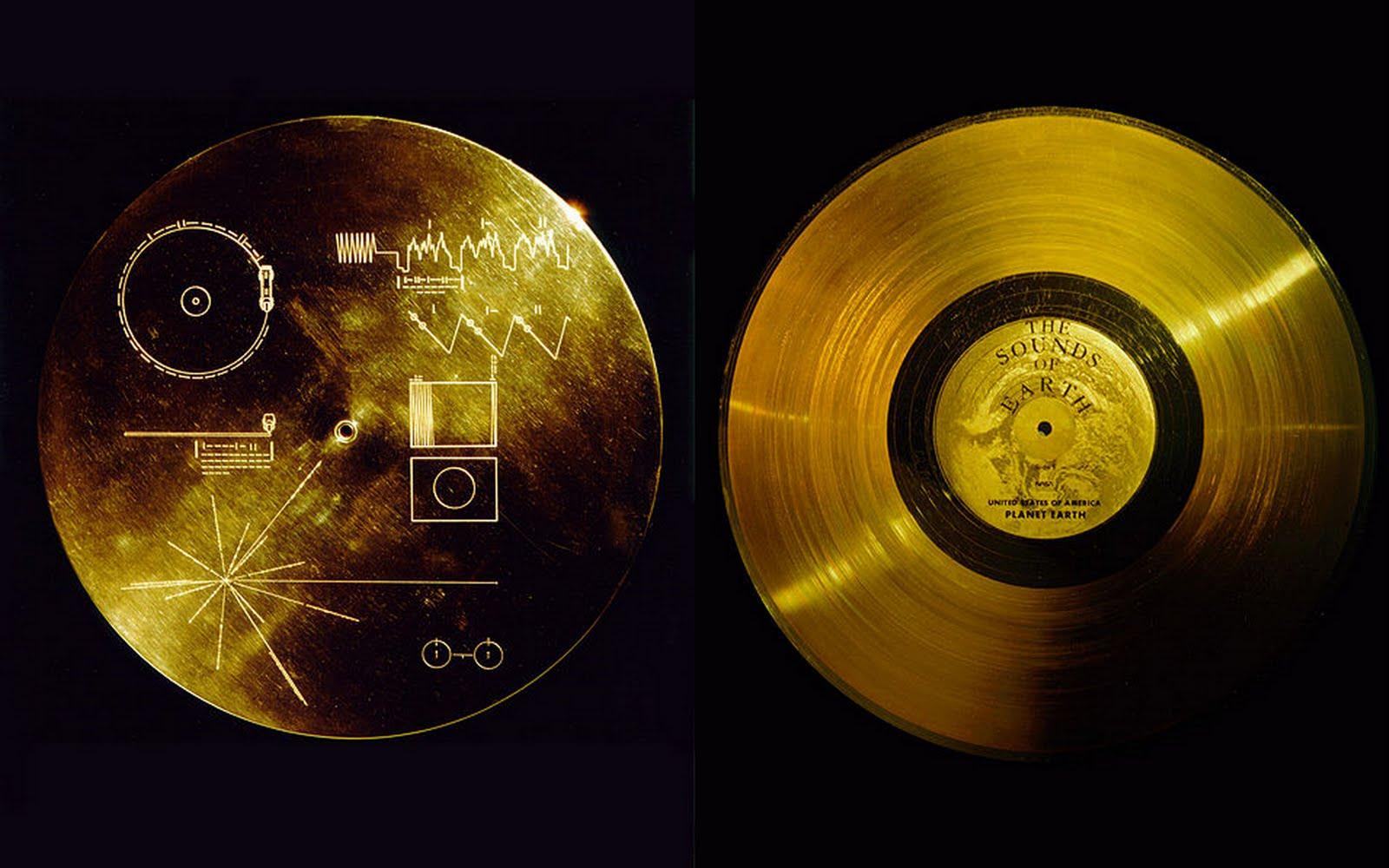 вояджер золотой диск