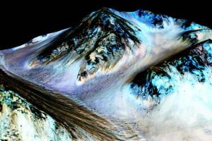 марс вода наса