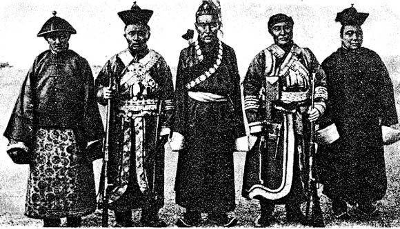 Политика китайского правительства в Северной Монголии в начале XX  века