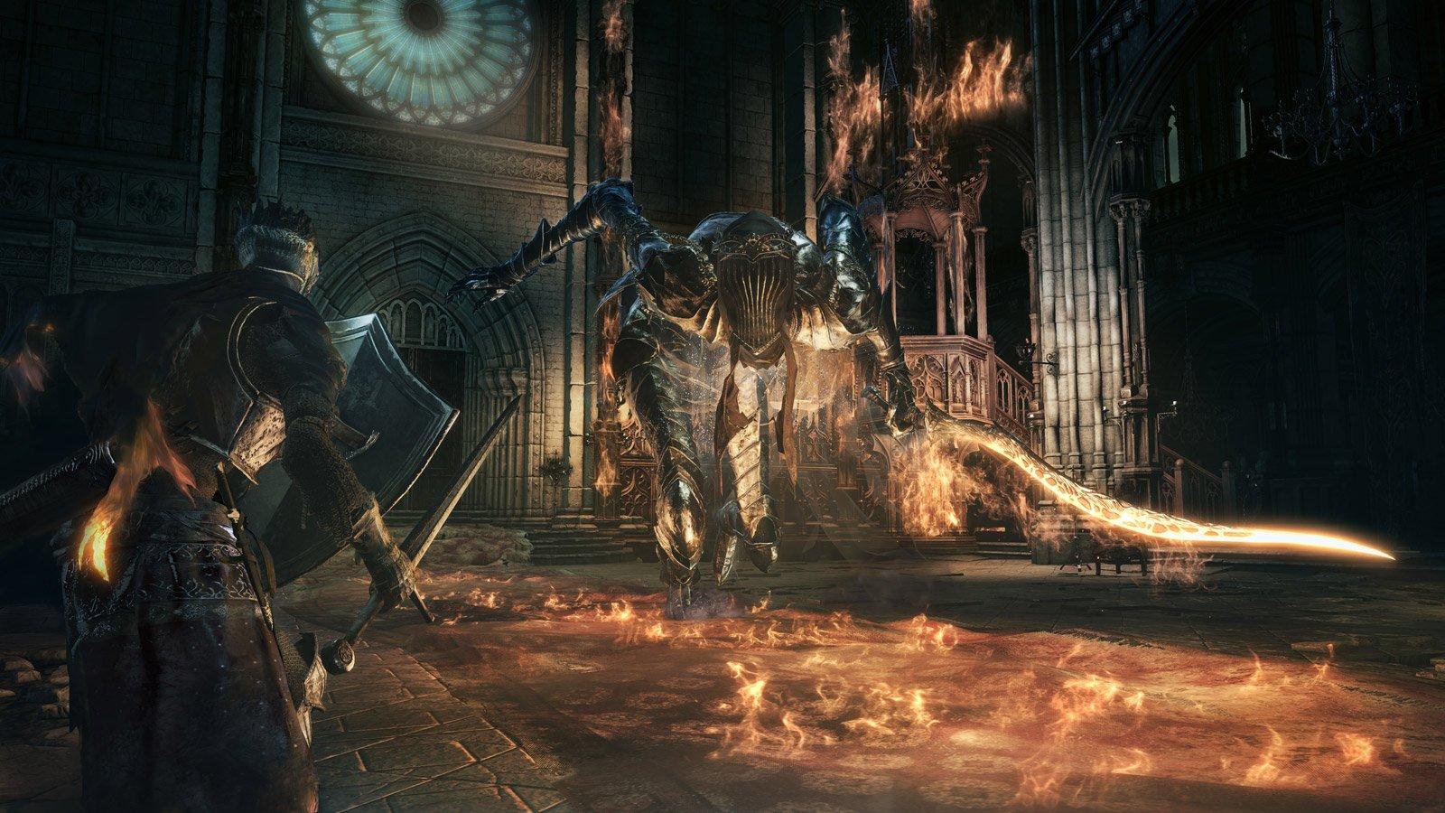 dark souls 3 beta stress test review preview превью ревью обзор дата выхода скачать dancer of the frigid valley boss