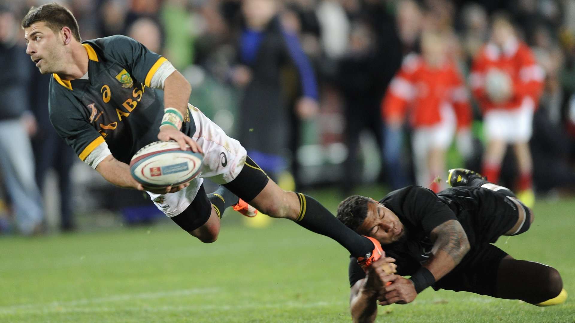 The Castle Lager Rugby Championship 2015: South Africa v New Zealand