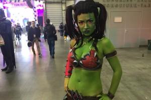 15 фотографий несколько горячих дам с первого дня Игромира и Comic-Con 2015