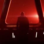 Главный злодей, как и полагается, стоит в темно-красных тонах и зловеще смотрит вдаль. Еще на постере нам показали вероятный следующий вариант «Звезды смерти», и похоже так она выглядит изнутри
