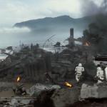 Сражение между штурмовиками происходит на лесном фоне, напоминающем планету Кашиик, принадлежащую Вуки или на базу повстанцев Явин IV