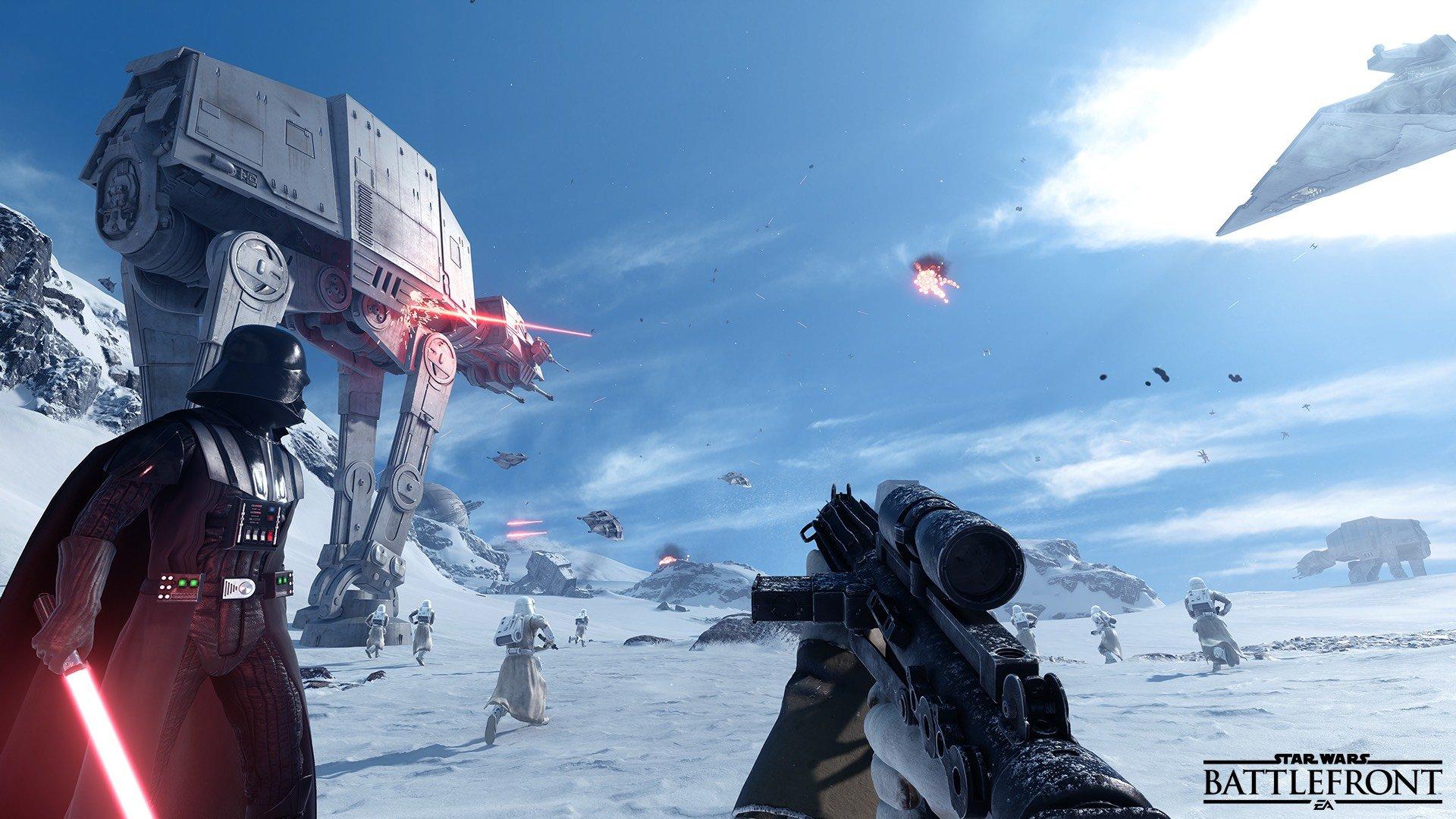 star wars battlefront preview beta бета обзор отвратительные мужики