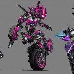 трансформеры мото Ducati Suzuki MV Agusta F4 Yamaha Motobot Tokyo Motor Show робот мотоцикл новости отвратительные мужики