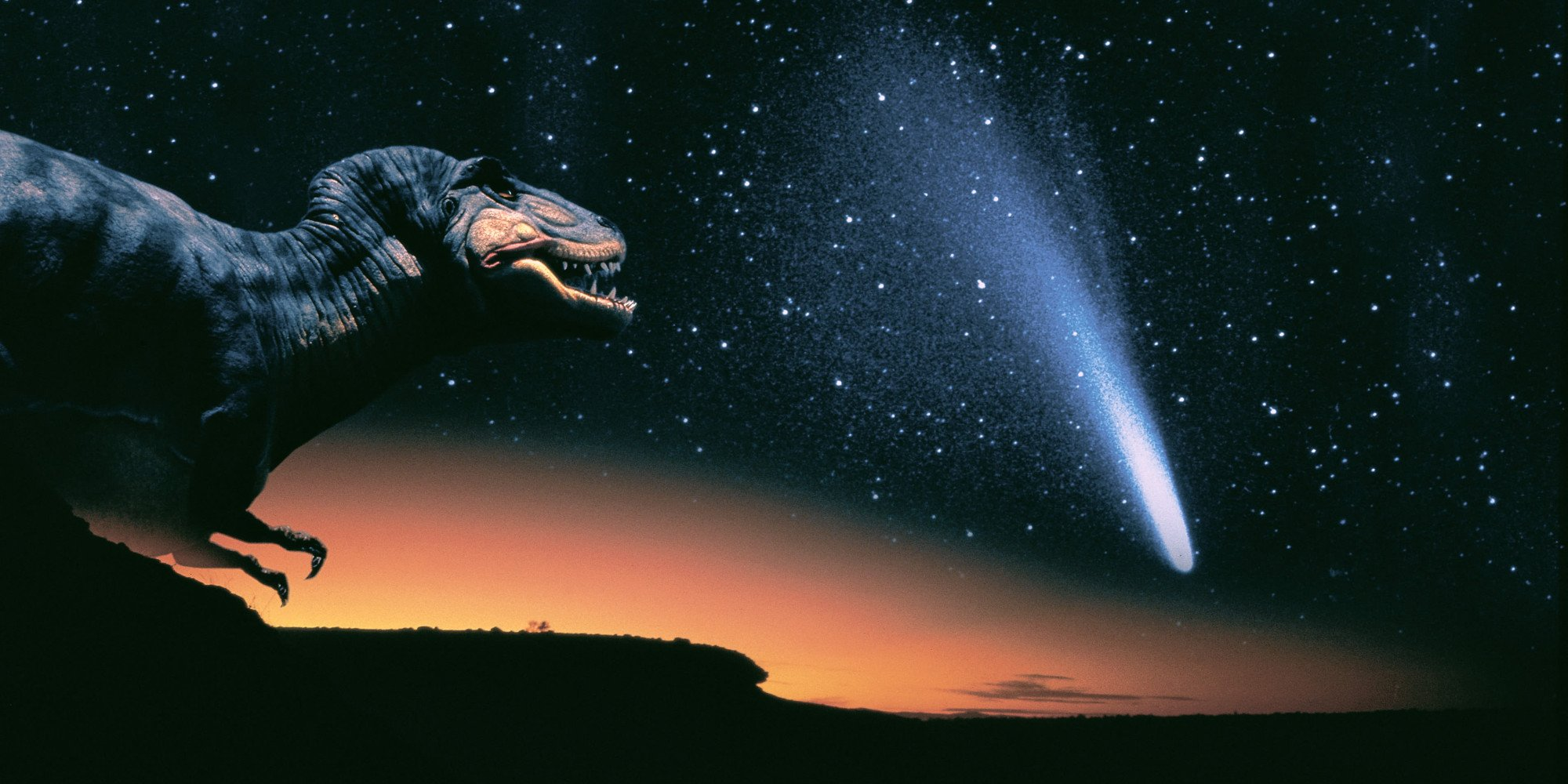 A comet not an asteroid may have killed the dinosaurs