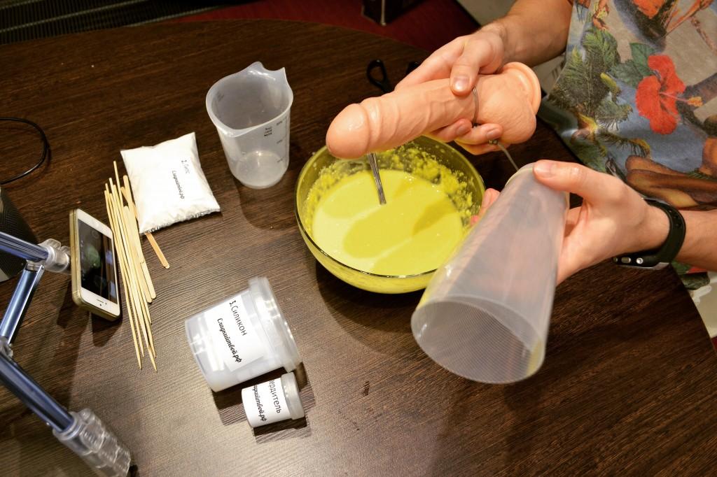 Из чего сделать силикон в домашних условиях 178
