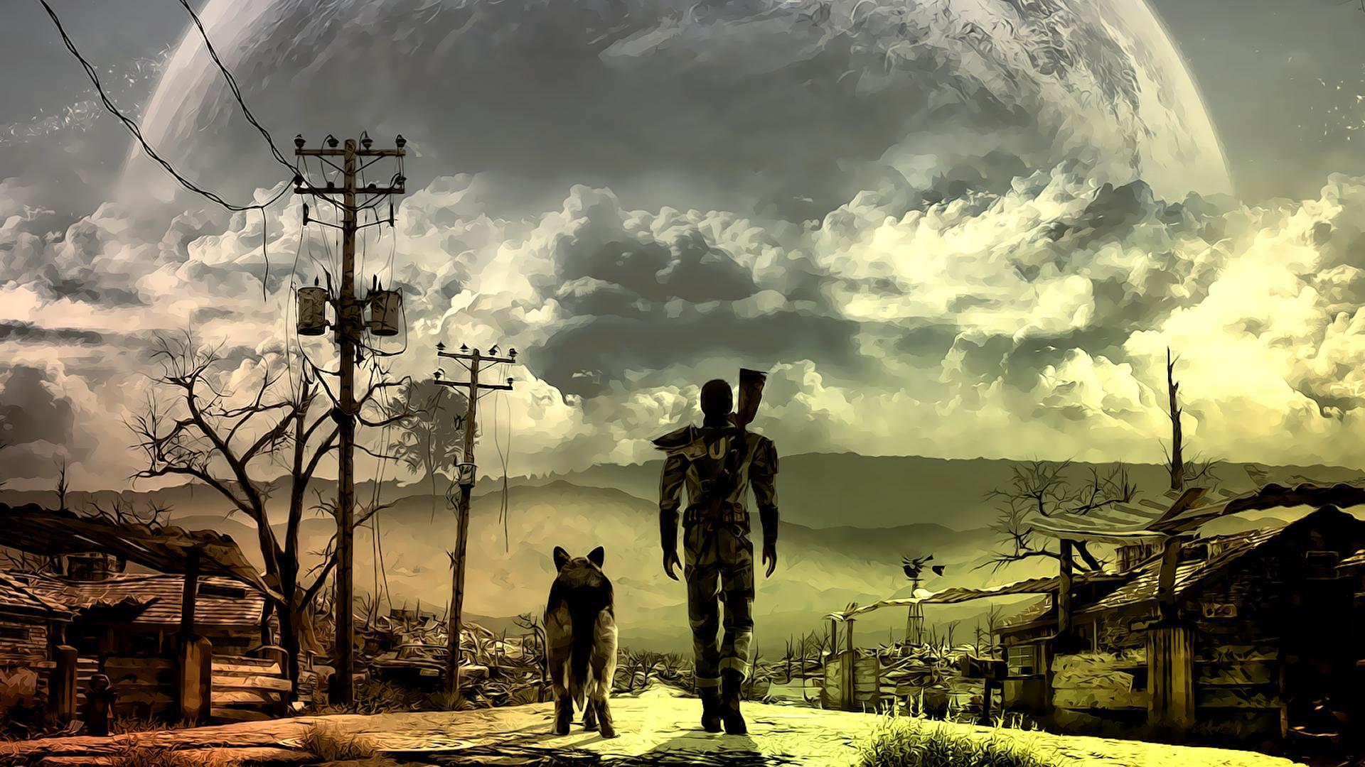 fallout 4 бомжи бомжевание мнение обзор