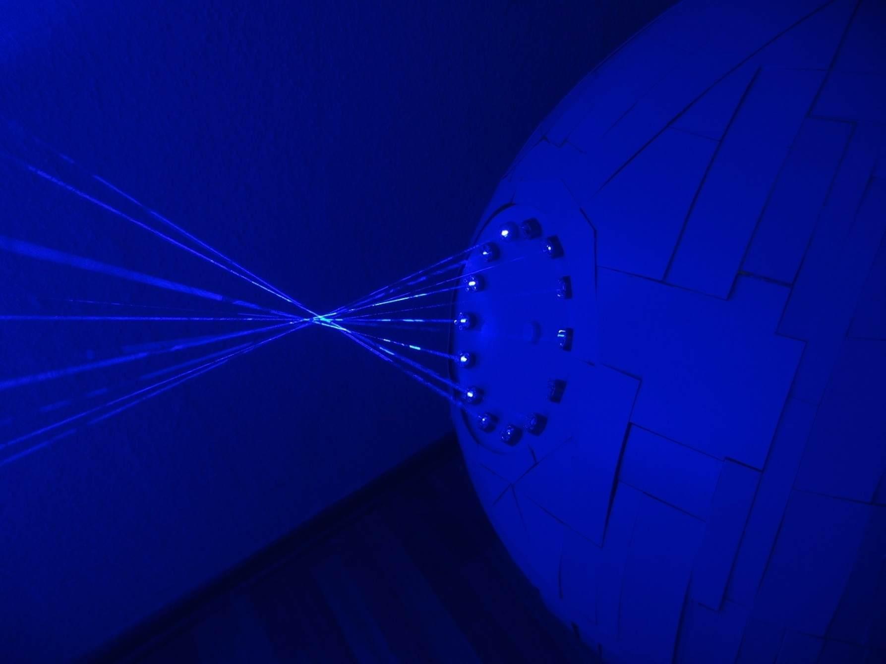 патрик прибе звезда смерти модель звезды смерти лазеры laser gadgets star wars episode 7 звездные войны 7 эпизод пробуждение силы