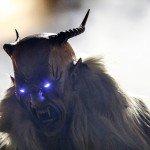 Крампус Krampus праздник 5 6 декабря Рождество Новый год Святой Николай демон