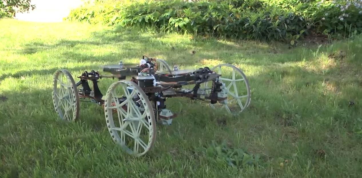 Disney VertiGo робот на колесах стены вертикальное движение новости технологии отвратительные мужики