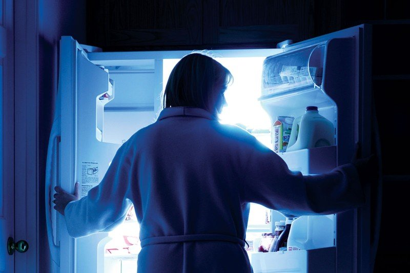 еда ночь есть по ночам ночной жор вредно мозг влияет наука новости отвратительные мужики