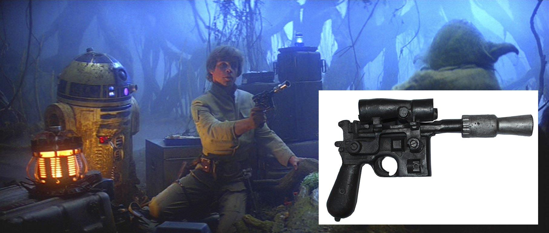 бластер люка скайуокера купить аукцион звездные войны star wars luke skywalker blaster auction buy