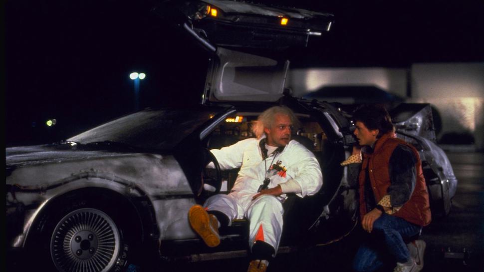 DeLorean Back to the Future Назад в Будущее DMC-12 кино новости автомобили отвратительные мужики