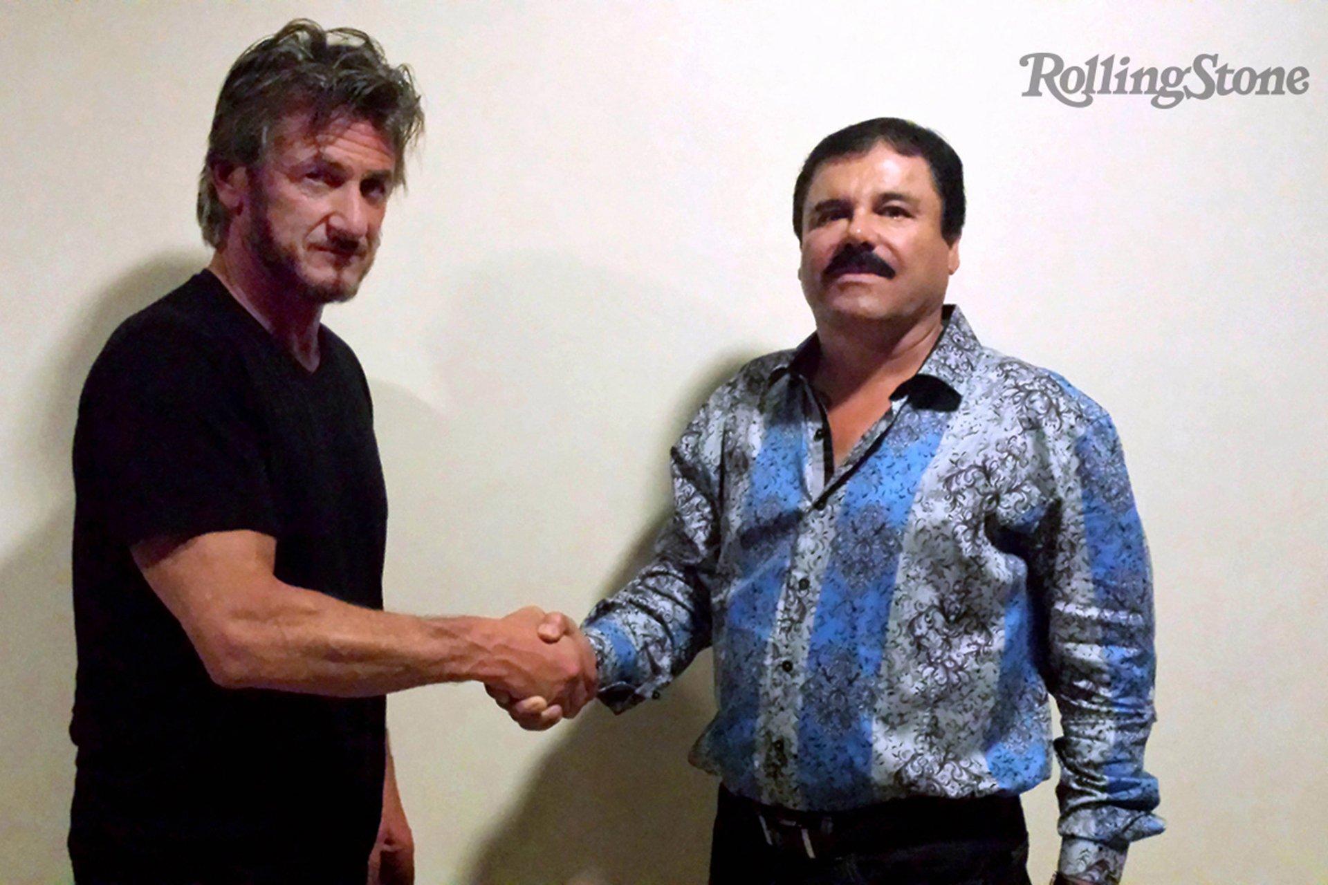 эль чапо наркобарон Шон Пенн Rolling Stone интервью поймали Синалоа Мексика США новости отвратительные мужики