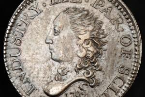1792 half disme ANA Money Museum