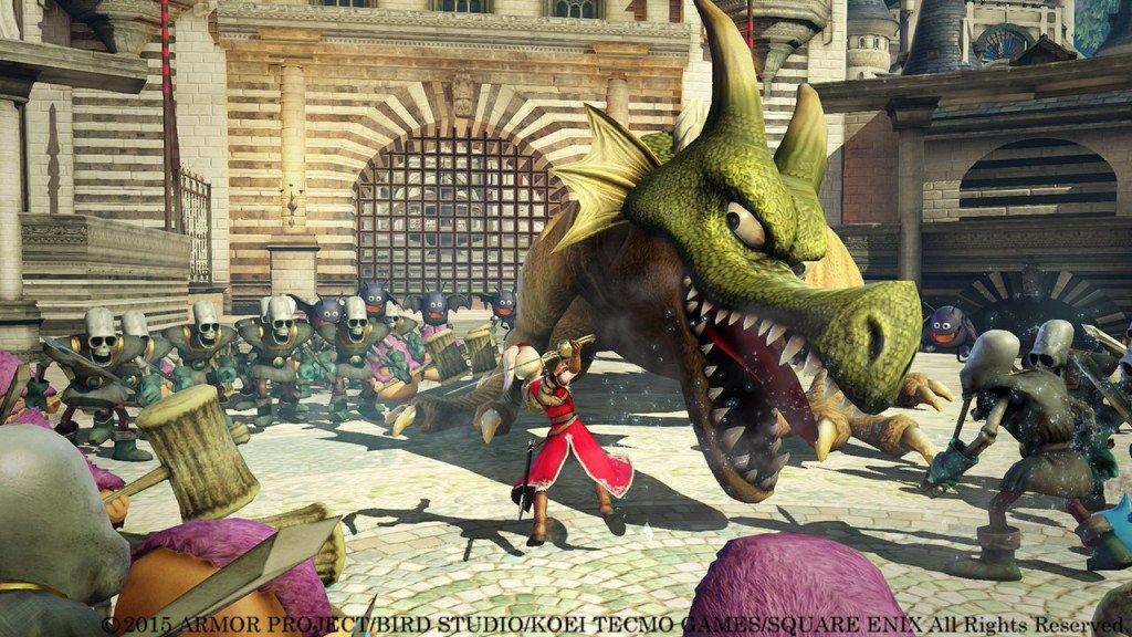 dragon quest heroes случайные обзоры отвратительные мужики
