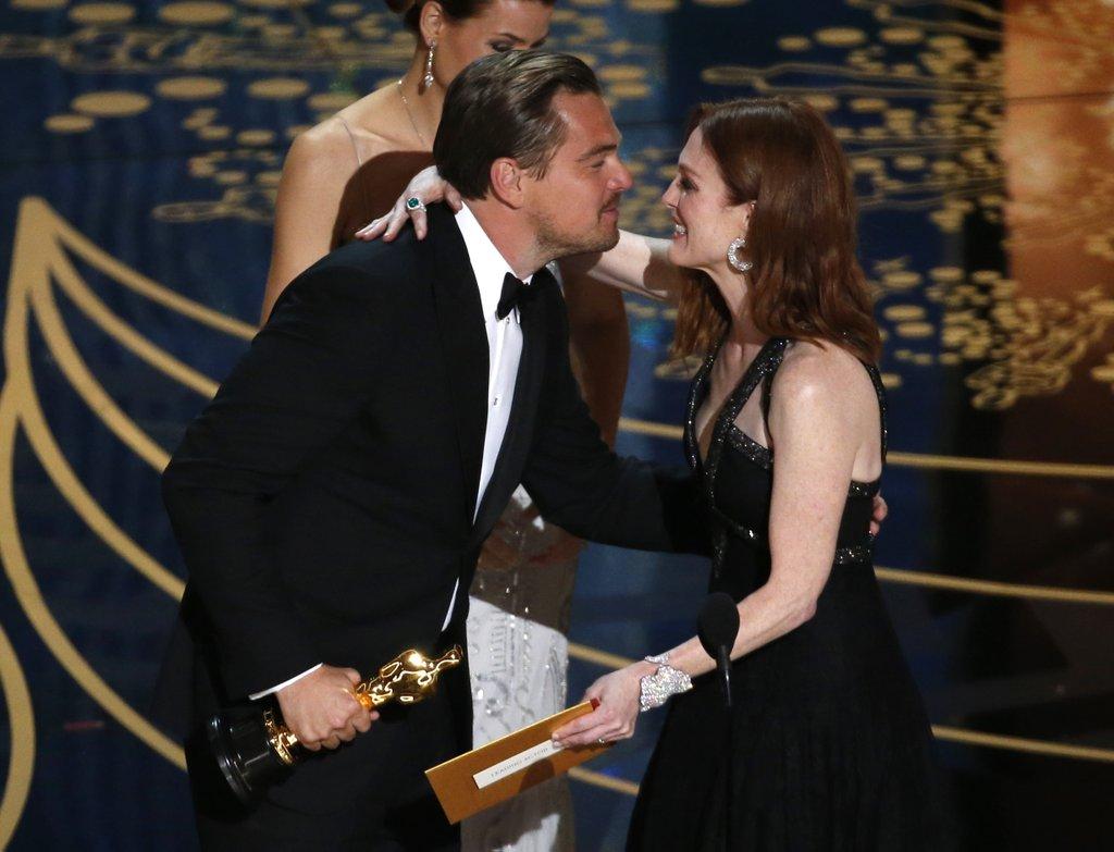 Оскар 2016 ди каприо выживший кино новости премия отвратительные мужики