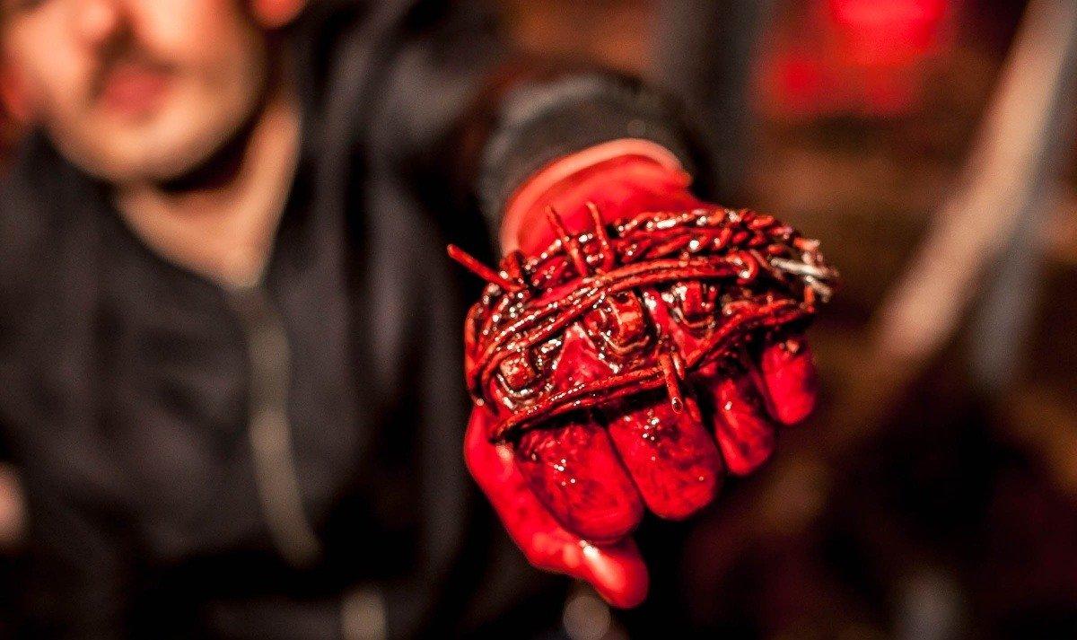 Хардкор российское кино Данила Козловский Шарлто Копли Илья Найшуллер от первого лица трейлер материал отвратительные мужики