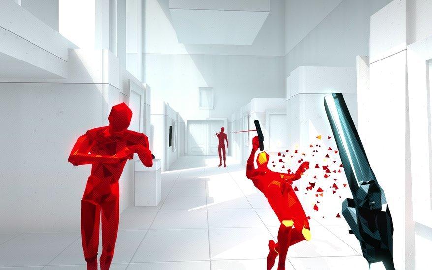 Super Hot review рецензия игры отвратительные мужики