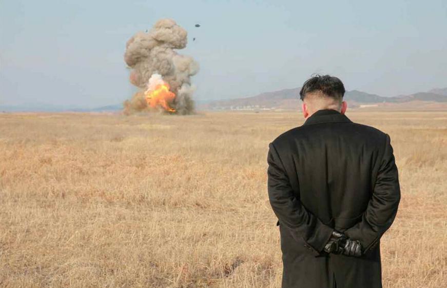ким чен ын взрыв мем испытания противотанкового оружия отвратительные мужики disgusting men
